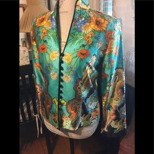 Silk Jacket. JH Collections. Size 8